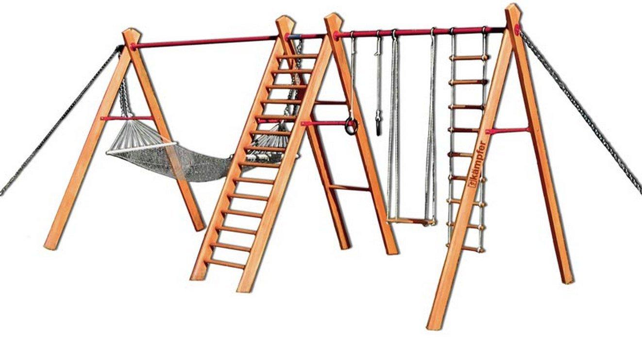 Детский спортивный комплекс деревянный своими руками